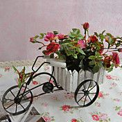 Pretty Bicycle Artificial Flowers - Set of 2 ... – USD $ 34.99
