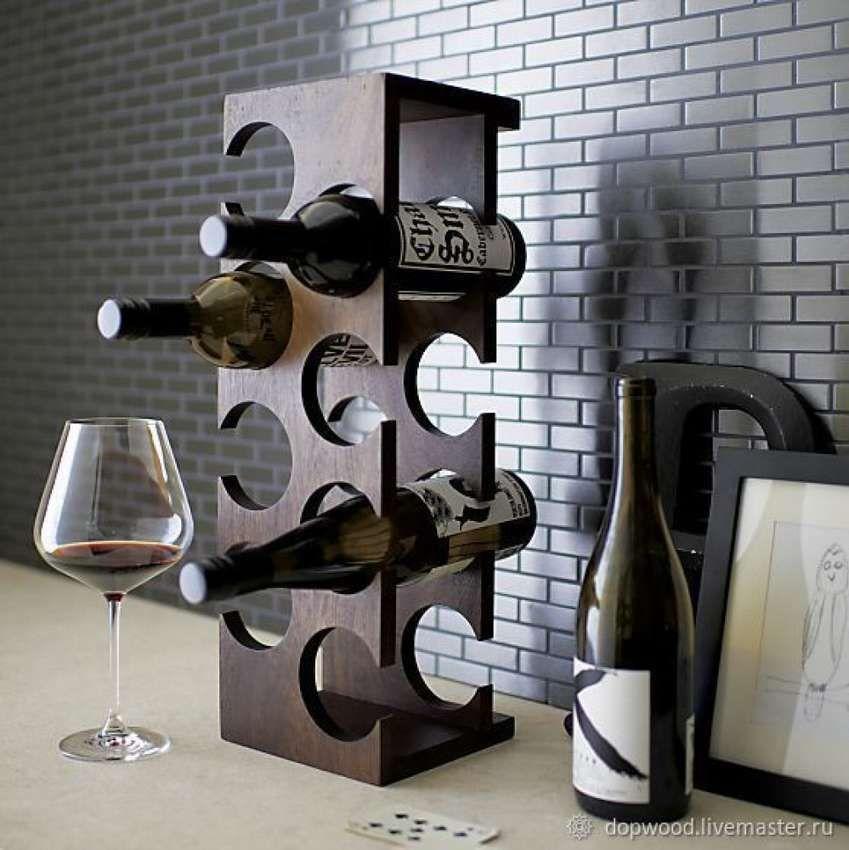 Bouteille de vin rack free standing 5 porte-bouteille noir