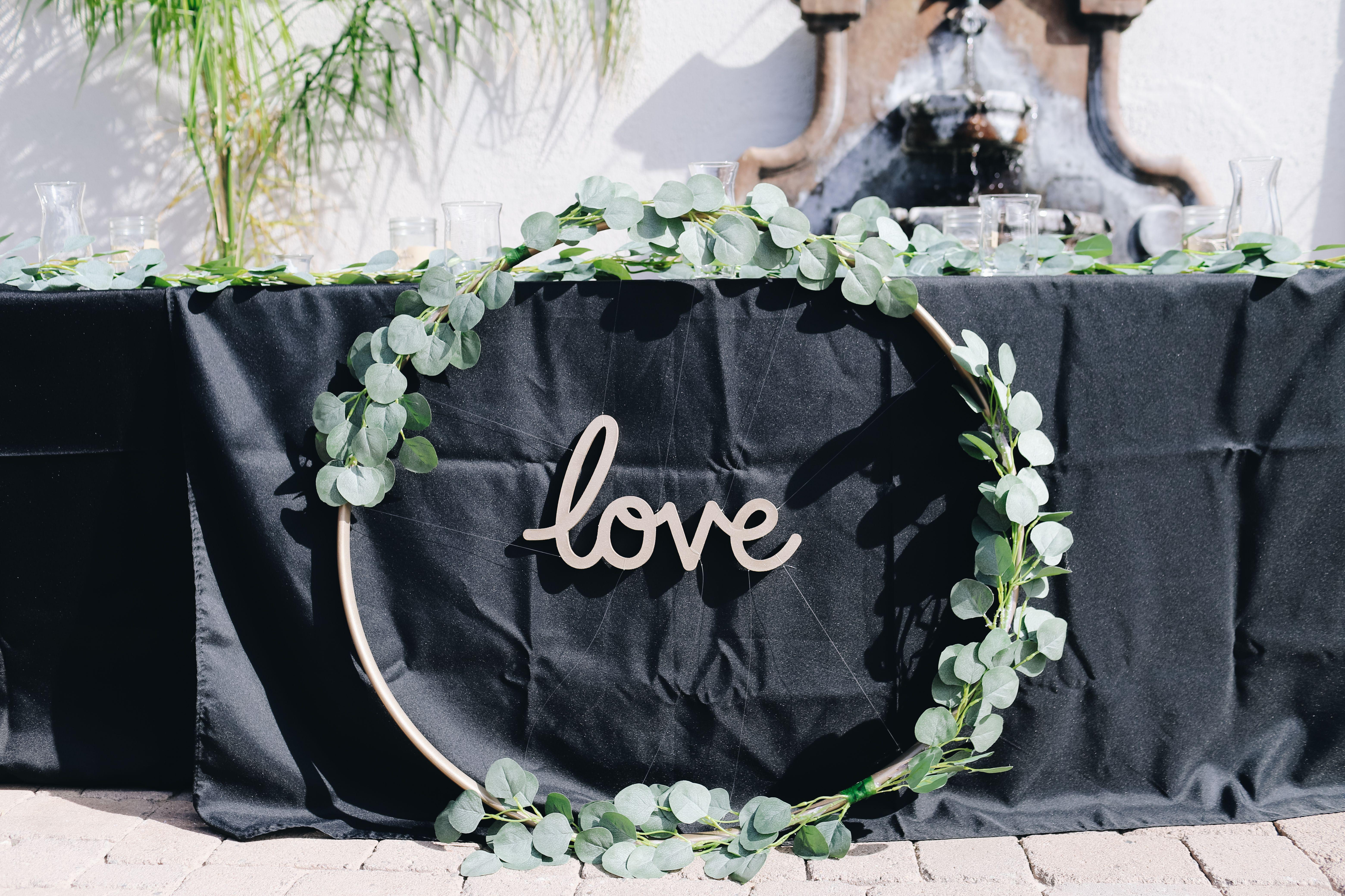 Photo of Wedding wreath decoration