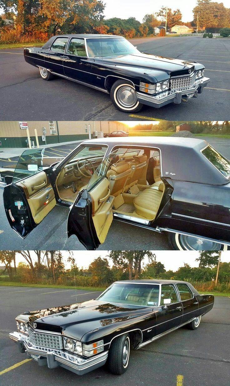 DO YOU LIKE VINTAGE? 1974 Cadillac Fleetwood Brougham