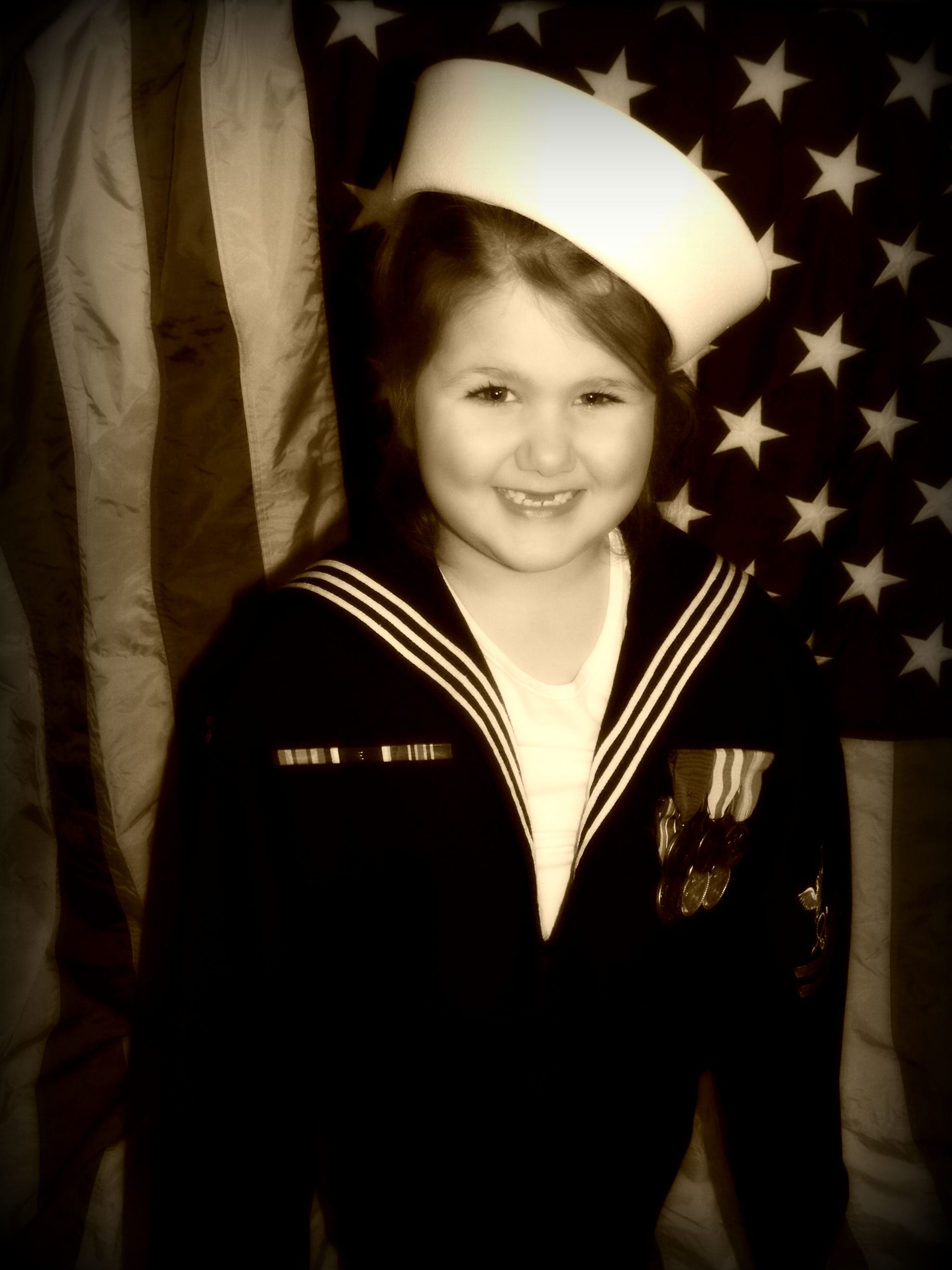In Daddy S Navy Uniform Navy Uniforms Navy Captain Hat