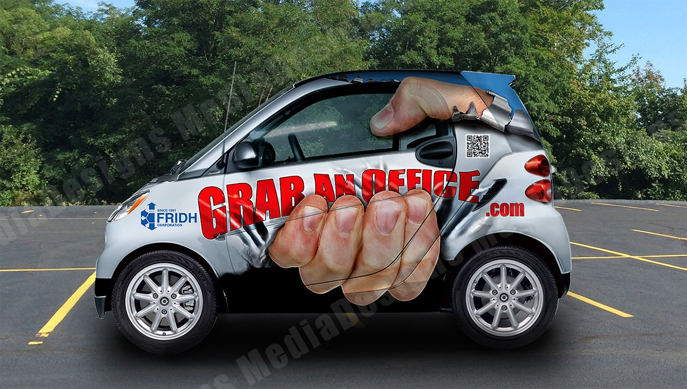 Smart car sticker designs - 3d Vehicle Wrap Graphic Design Ny Nj Cars Vans Trucks