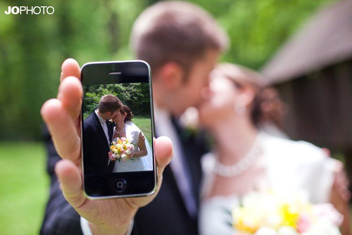 Wedding Photo App To Have Guest Take Photos And Post The Album Online Instantly