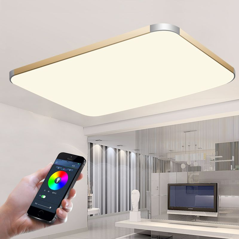 App Mobile Phone Control Modern Led Ceiling Lights For Living Room Bedroom Bluetooth Wireless App Modern Led Ceiling Lights Chandelier For Sale Ceiling Lights