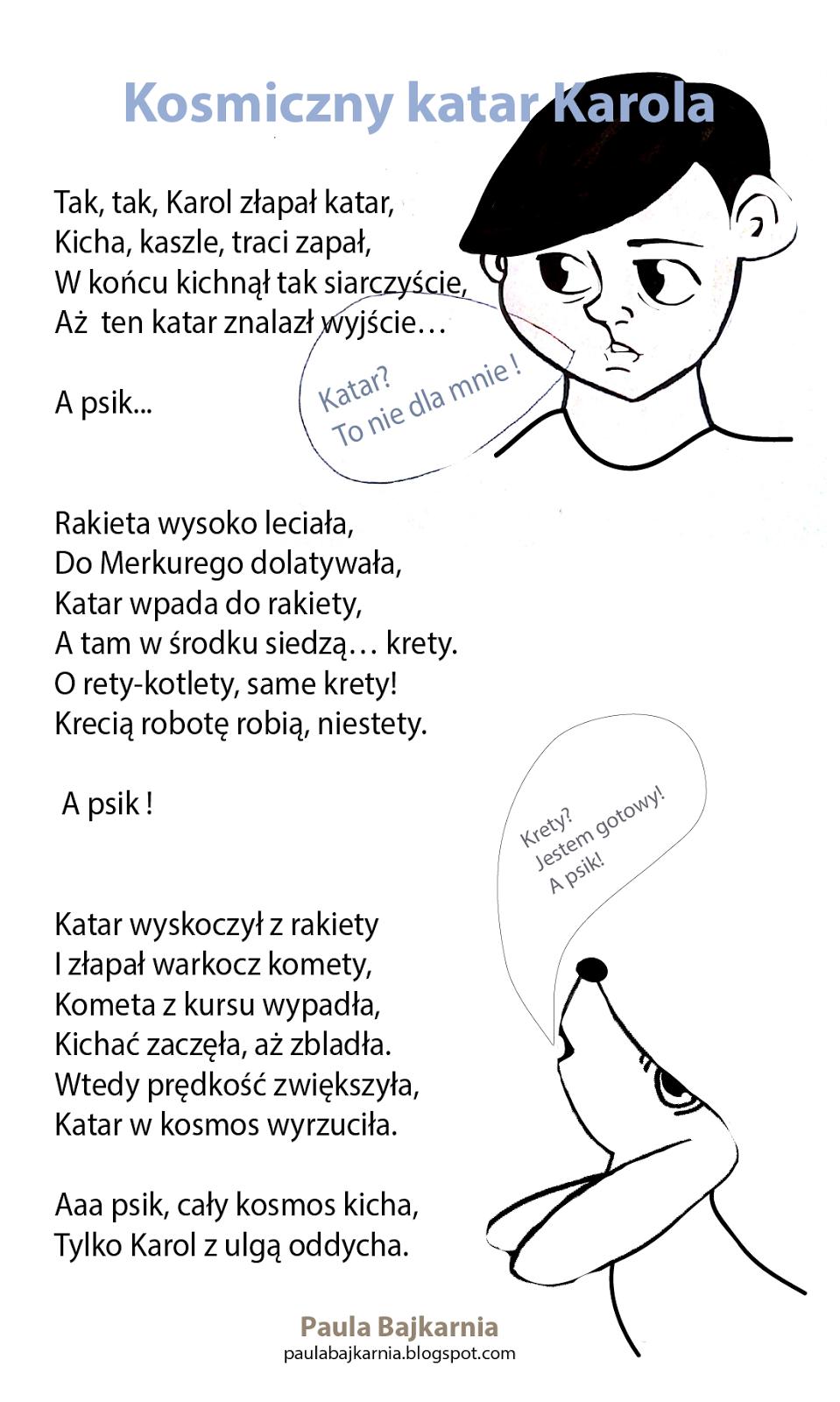 Bajkiwierszyki Logopedycznerymowanki Dla Maluchów