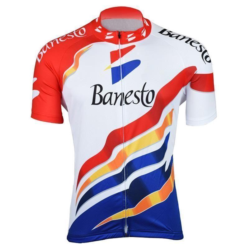 Retro Banesto Indurain Cycling Jersey  b4a47ab9c