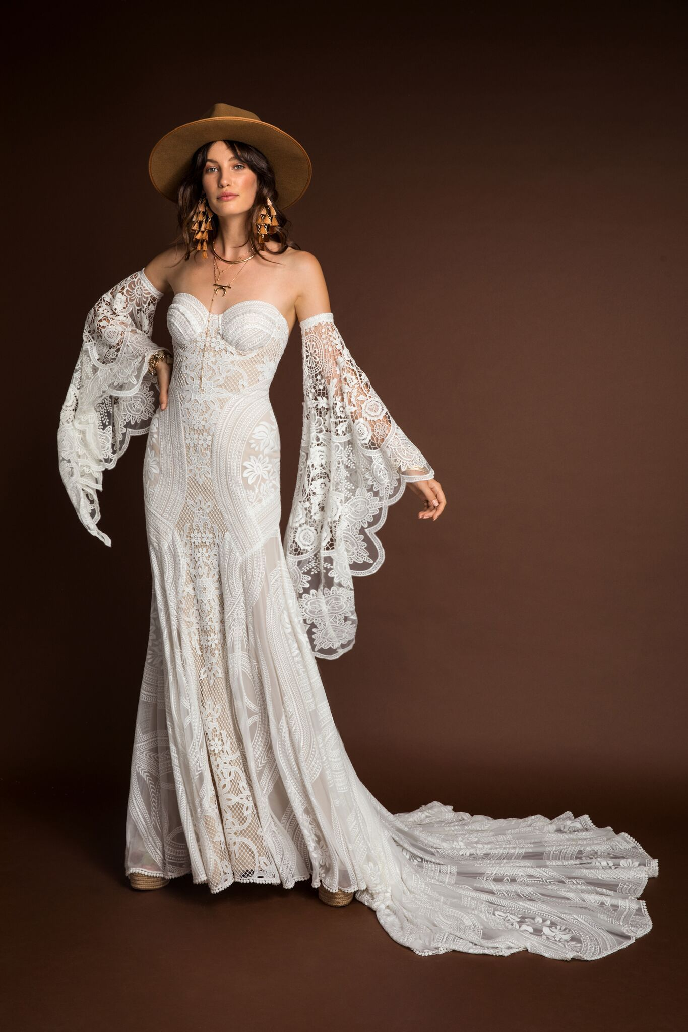New Rue De Seine Wedding Dresses + Trunk Shows #bridalshops