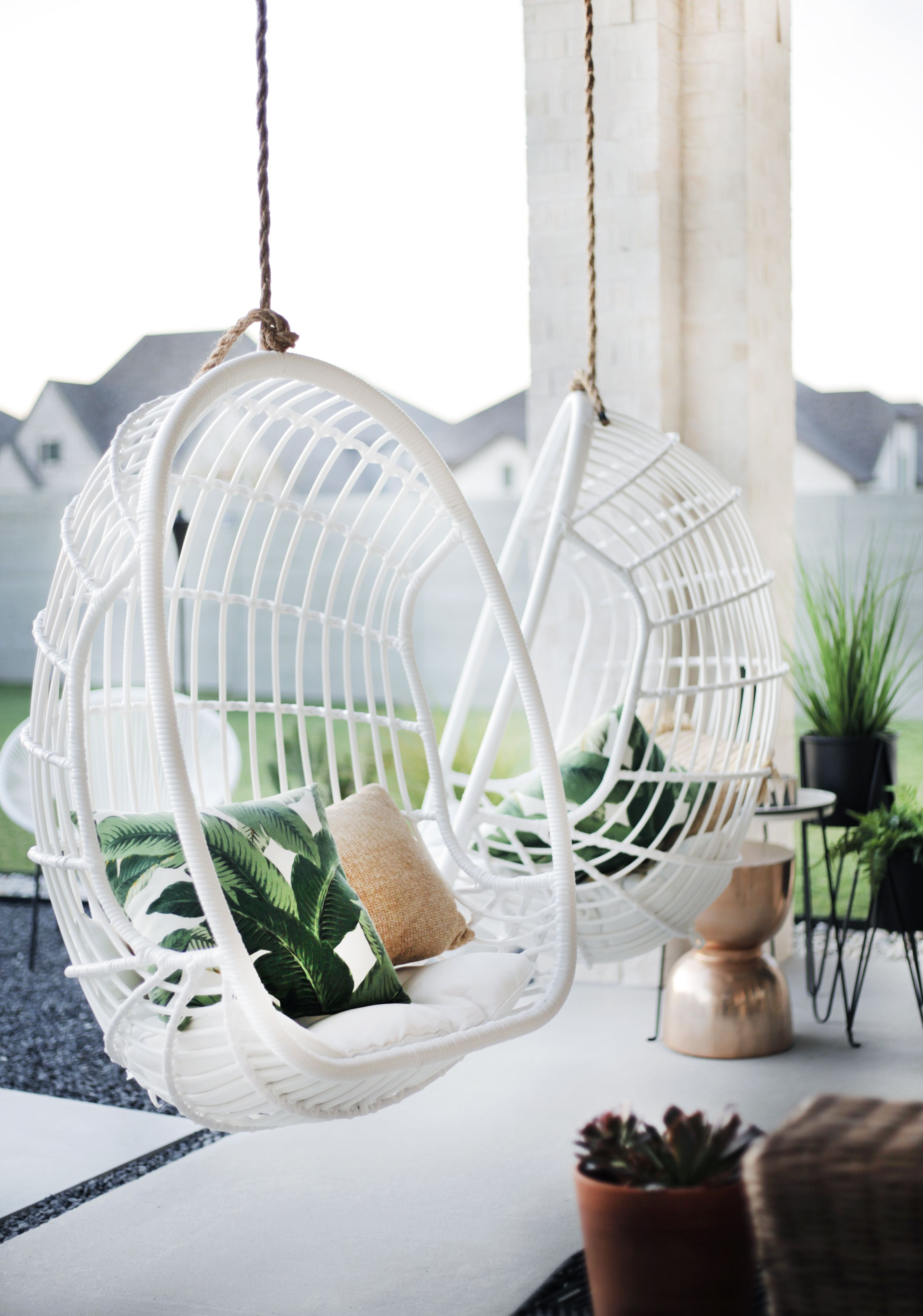 Knock off serena lily hanging chairs in 2020 hanging