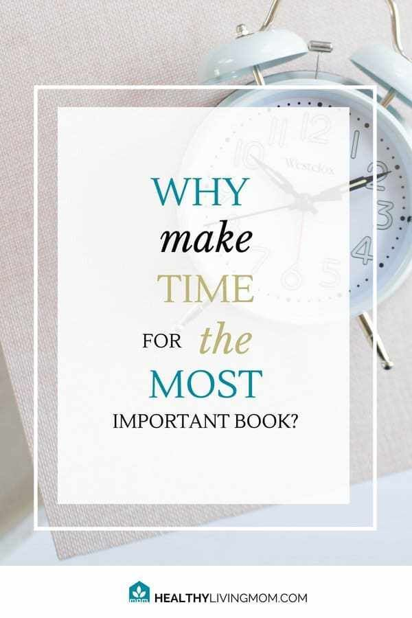 Why I Make Time to Read the Most Important Book Every Day ...