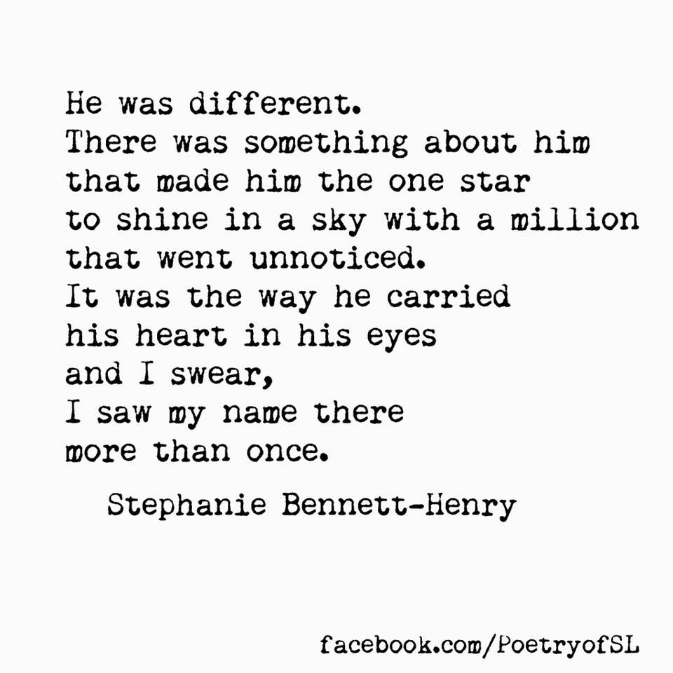 He Was Different Stephaniebennetthenry Poem Poetry Writing