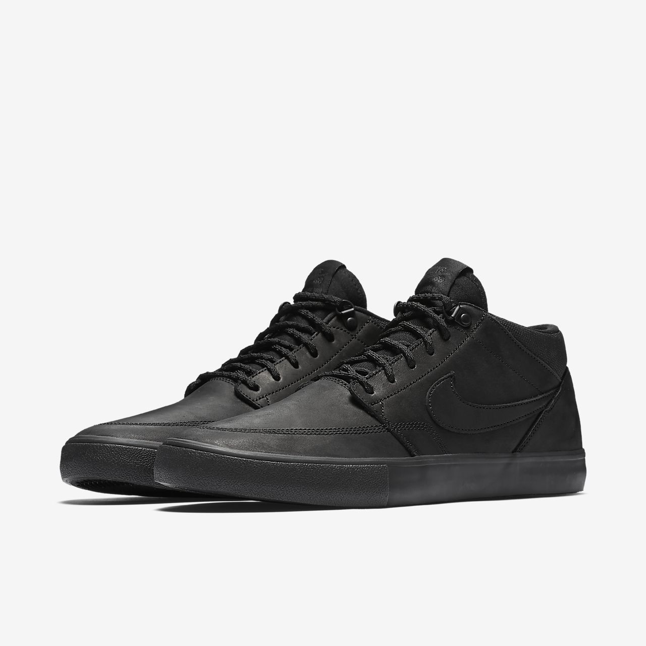 low priced e45b3 17ce2 Chaussure de skateboard Nike SB Solarsoft Portmore II Mid Premium pour Homme