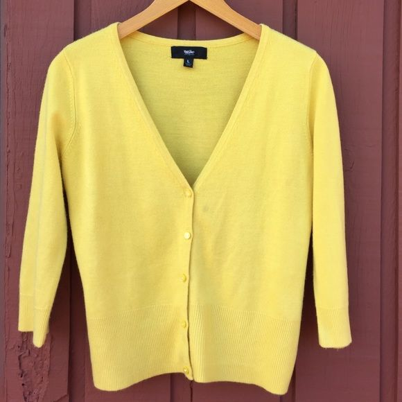 Canary yellow crop top sweater | Yellow crop top