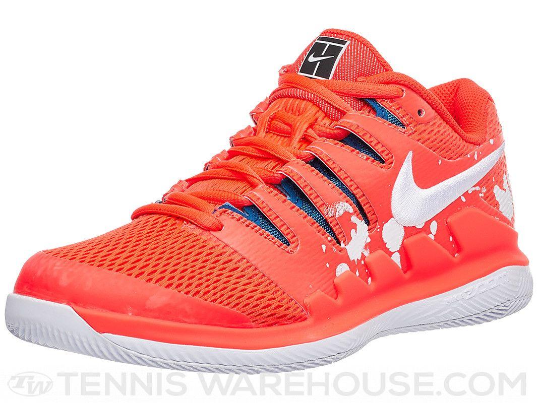Nike Air Zoom Vapor X Prm Red White Women S Shoe White Shoes Women Nike Air Zoom Nike