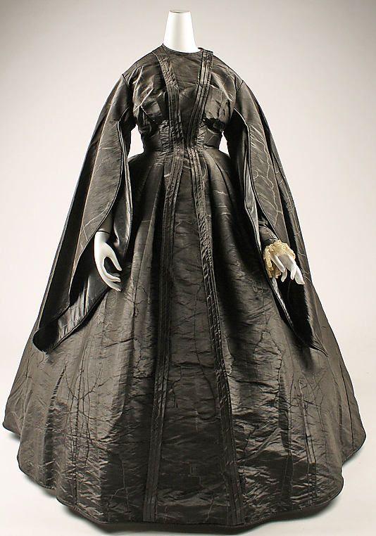 Dress, American, ca. 1867