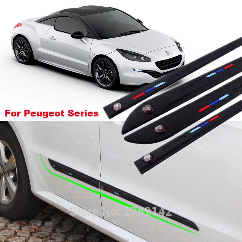 For Peugeot 206 207 306 308 508 3008 All Series Black White Anti