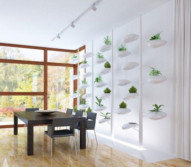 La dise adora danielle trofe ha creado un ingenioso jard n for Sistema de riego jardin vertical