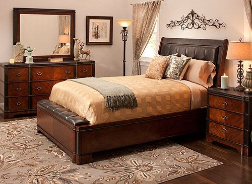 decorating with this dundee queen bedroom set makes designing youru2026
