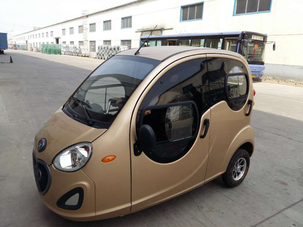 Closed Cabin Passenger Tricycle/3 Wheel Electric Motorcycle For