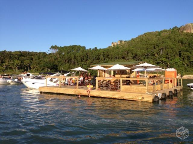Extremamente Balsa Flutuante Bar Trapiche Deck Casa   Flutuantes   Pinterest  WC13