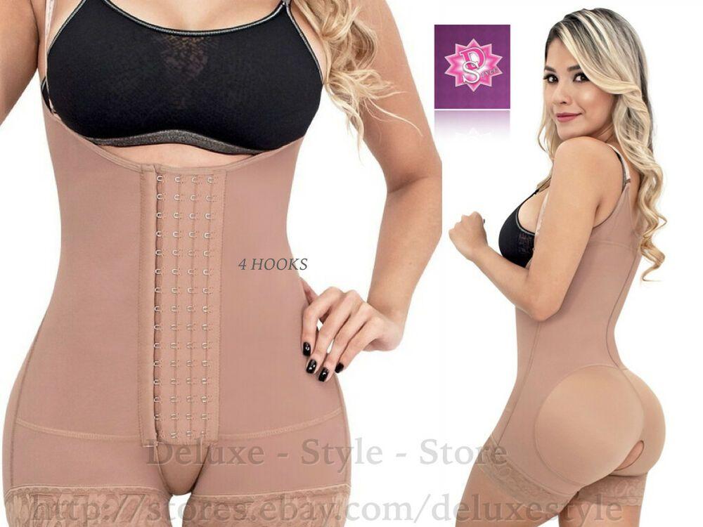 Women Faja Colombiana Romanza 2033 Comfy Invisible Girdle Butt Lifter Underwear