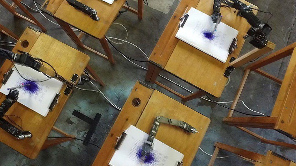 The robots attending arts class - BBC News http://ift.tt/