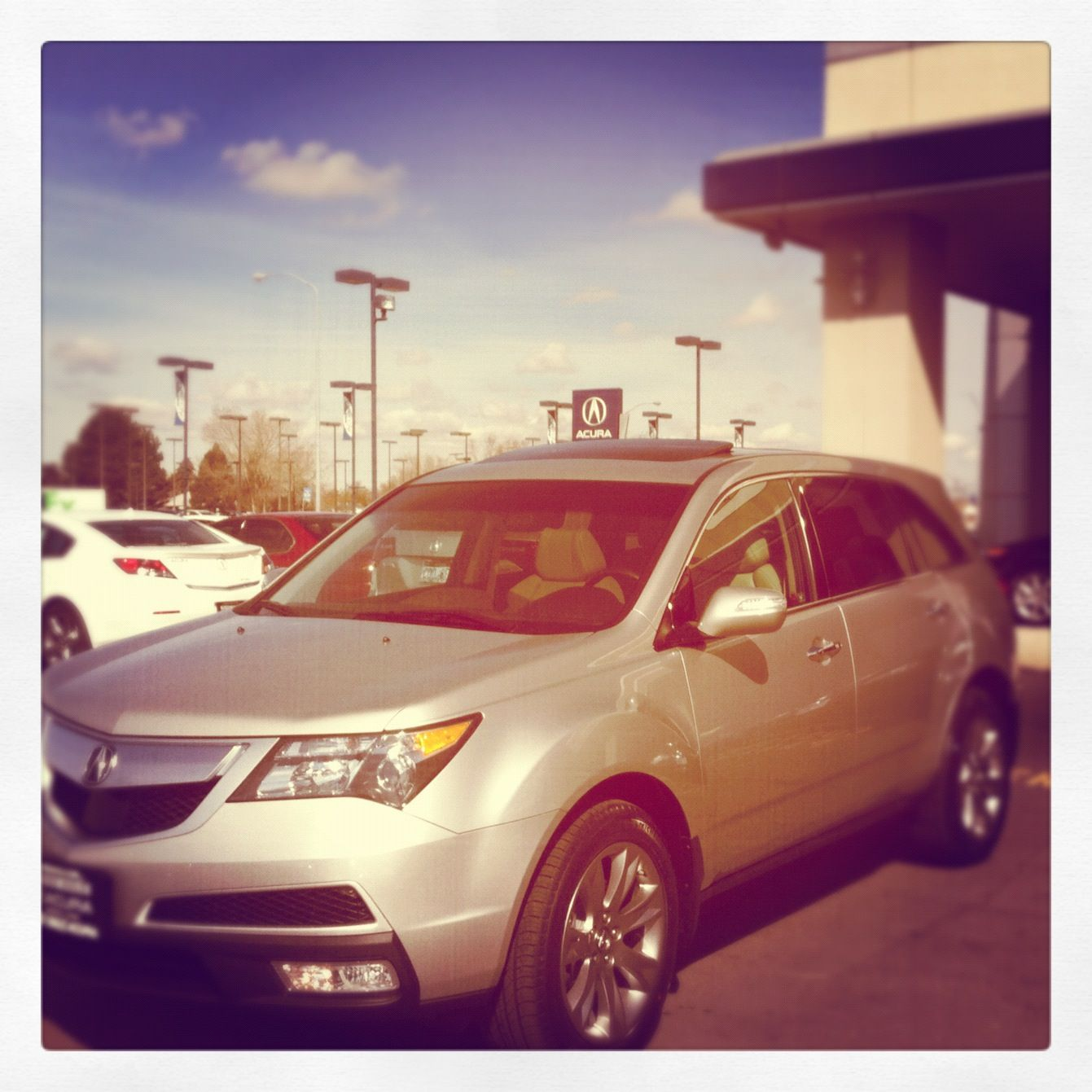 2012 Acura MDX Beautiful First Day Of Spring!
