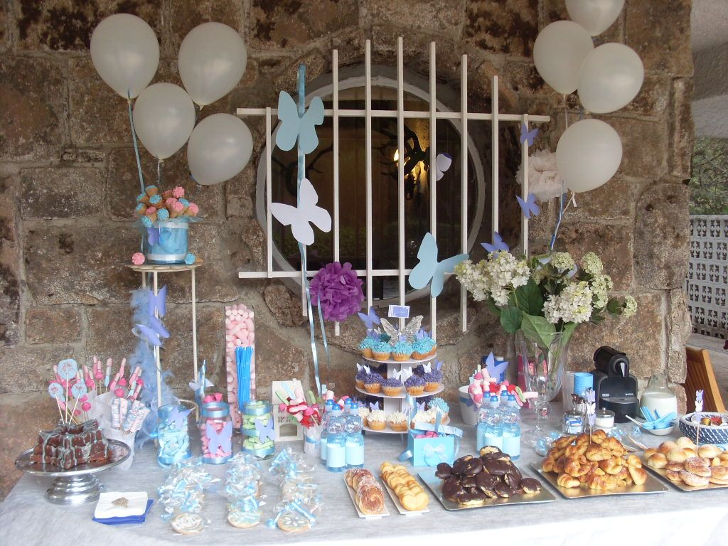 Mesa de dulces para baby shower vintage buscar con for Mesa baby shower nino