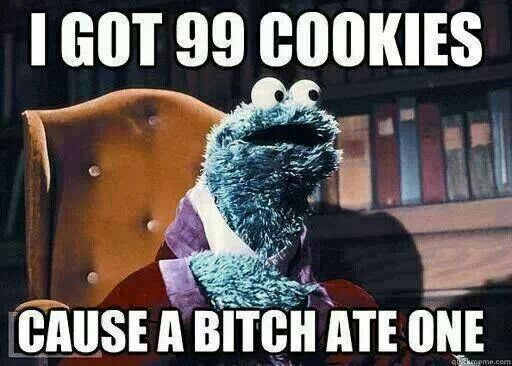 Cookie Monster Christmas Memes Funny Sesame Street Memes Monster Cookies