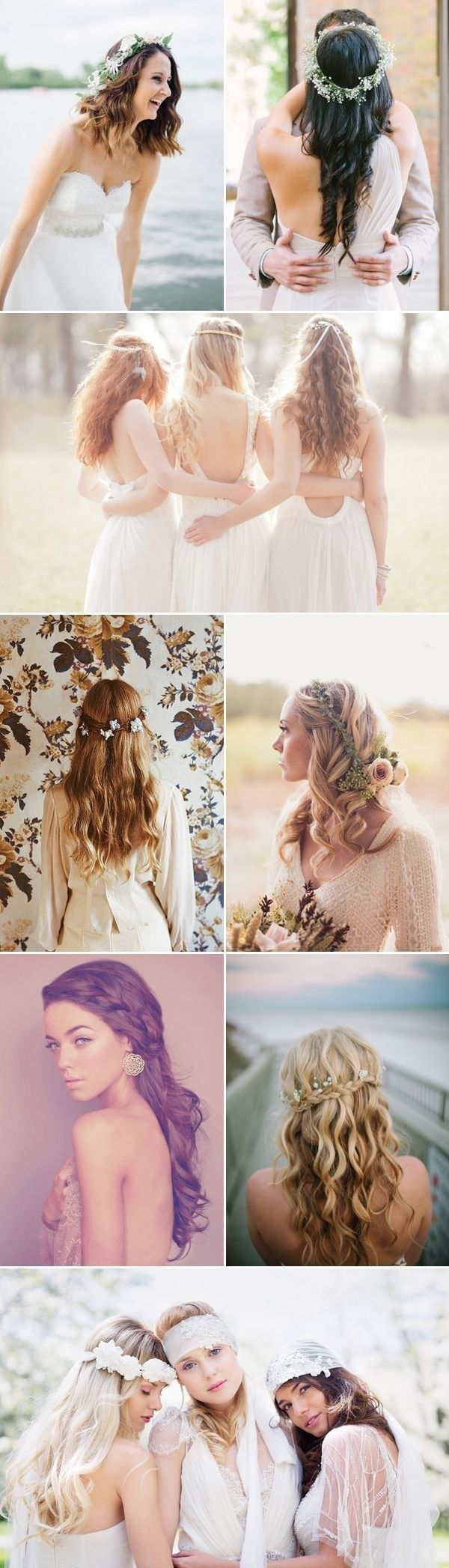hottest bridesmaid hairstyles for long hair bridesmaid