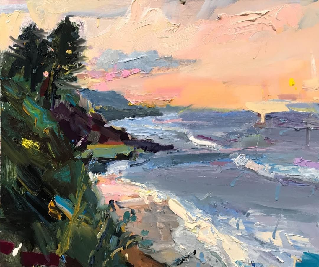 Richard Claremont Art Richard Claremont Instagram Photos And V Impressionist Paintings Landscape Modern Art Paintings Abstract Abstract Landscape Painting