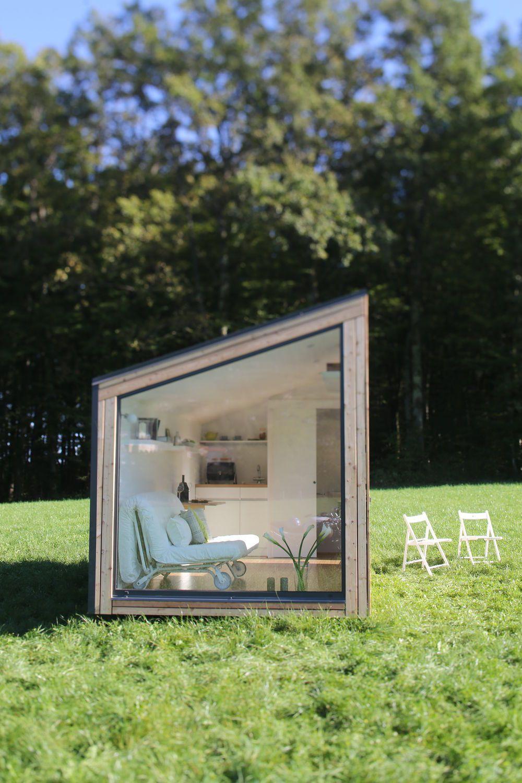 Maison pr fabriqu e contemporaine ossature bois 2 tages ek 001 ekokoncept wooden - Maison prefab ...