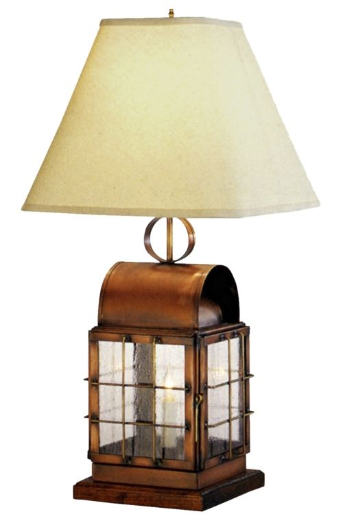 Giveaway american made lighting by lanternland pinterest copper back bay table lamp handcrafted american made lighting from lanternland made in the usa aloadofball Choice Image