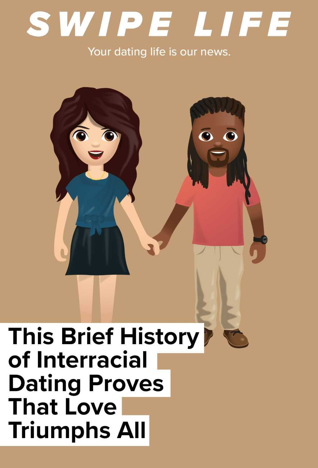This Brief History of Interracial Dating Proves That Love