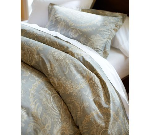 Lewis Paisley Bedding From Pottery Barn I Love The Way This Looks