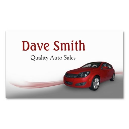 Used Car Dealer And Service Business Card Zazzle Com Car Dealer Used Car Dealer Used Cars