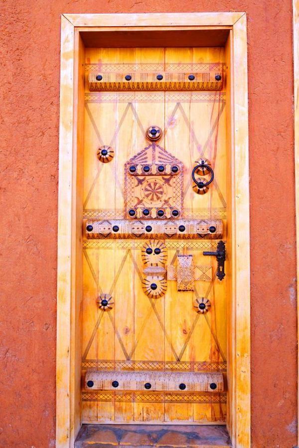 Ushaiger Heritage Village Saudi Arabia Porte Fenetre Portes Anciennes Portes