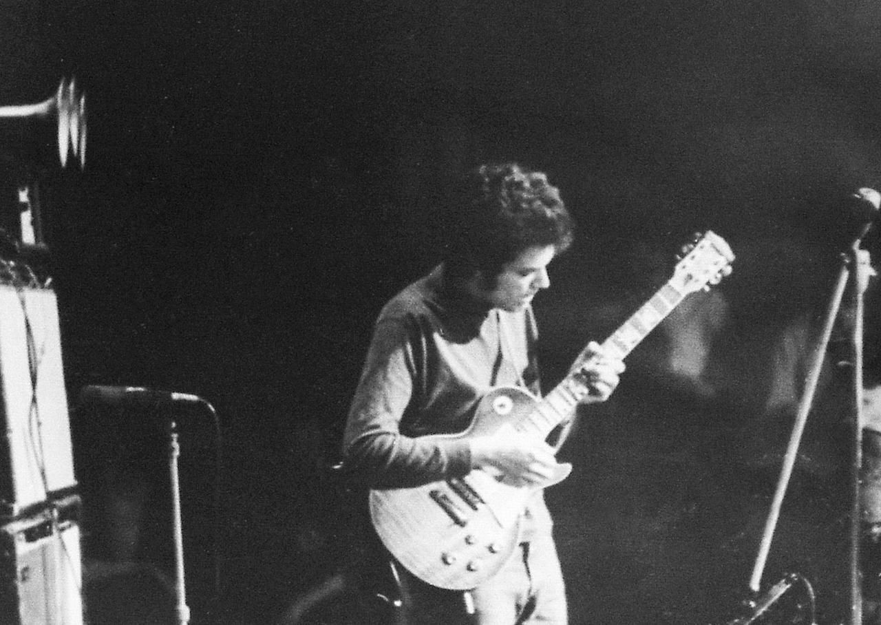 Mike onstage at the Fathers and Sons concert in Chicago, 1969