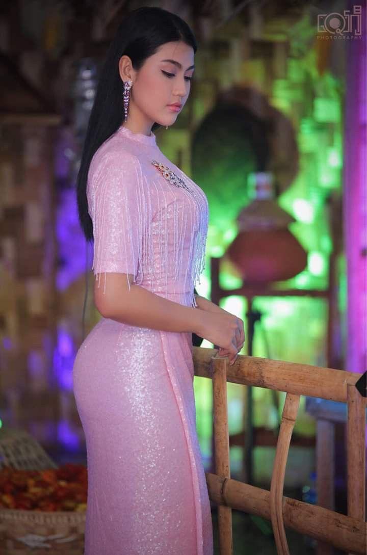 Myanmar Actress Ei Chaw Po - 8 Days Journal Cover Set