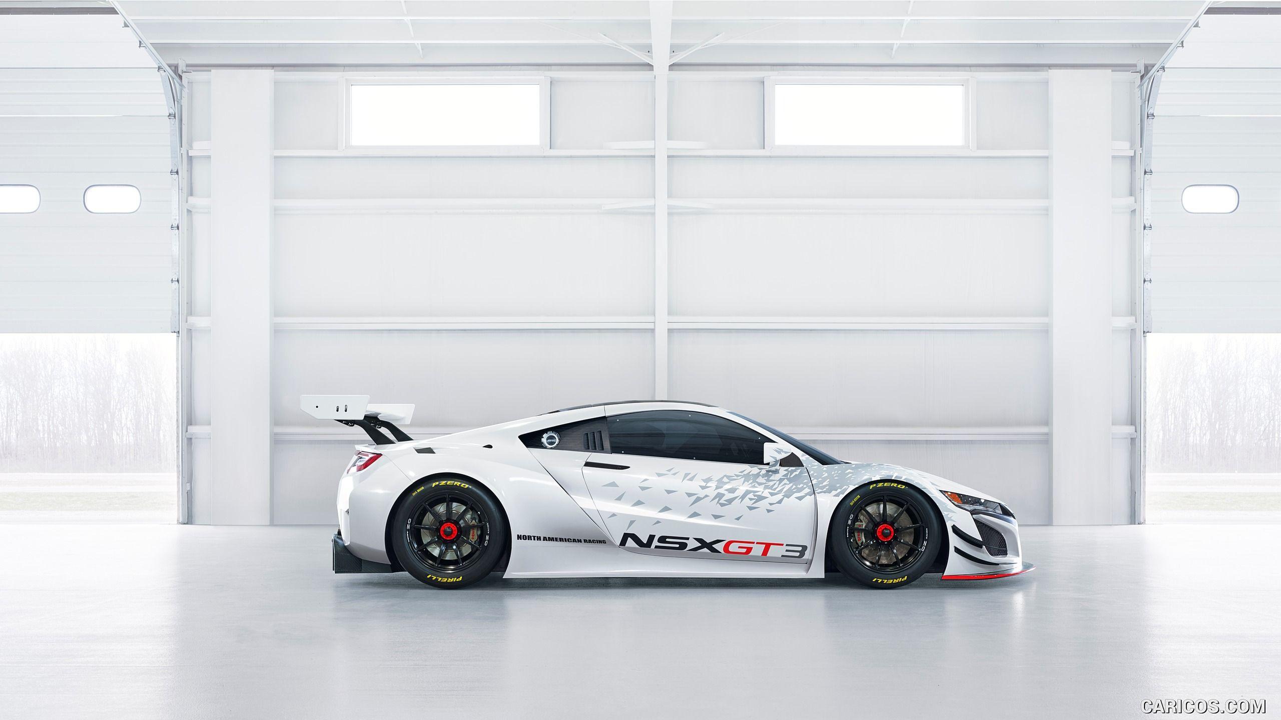 2017 acura nsx gt3 racecar wallpaper