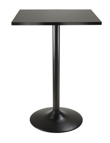 winsome 20522 obsidian pub table black table counter height pub rh pinterest com