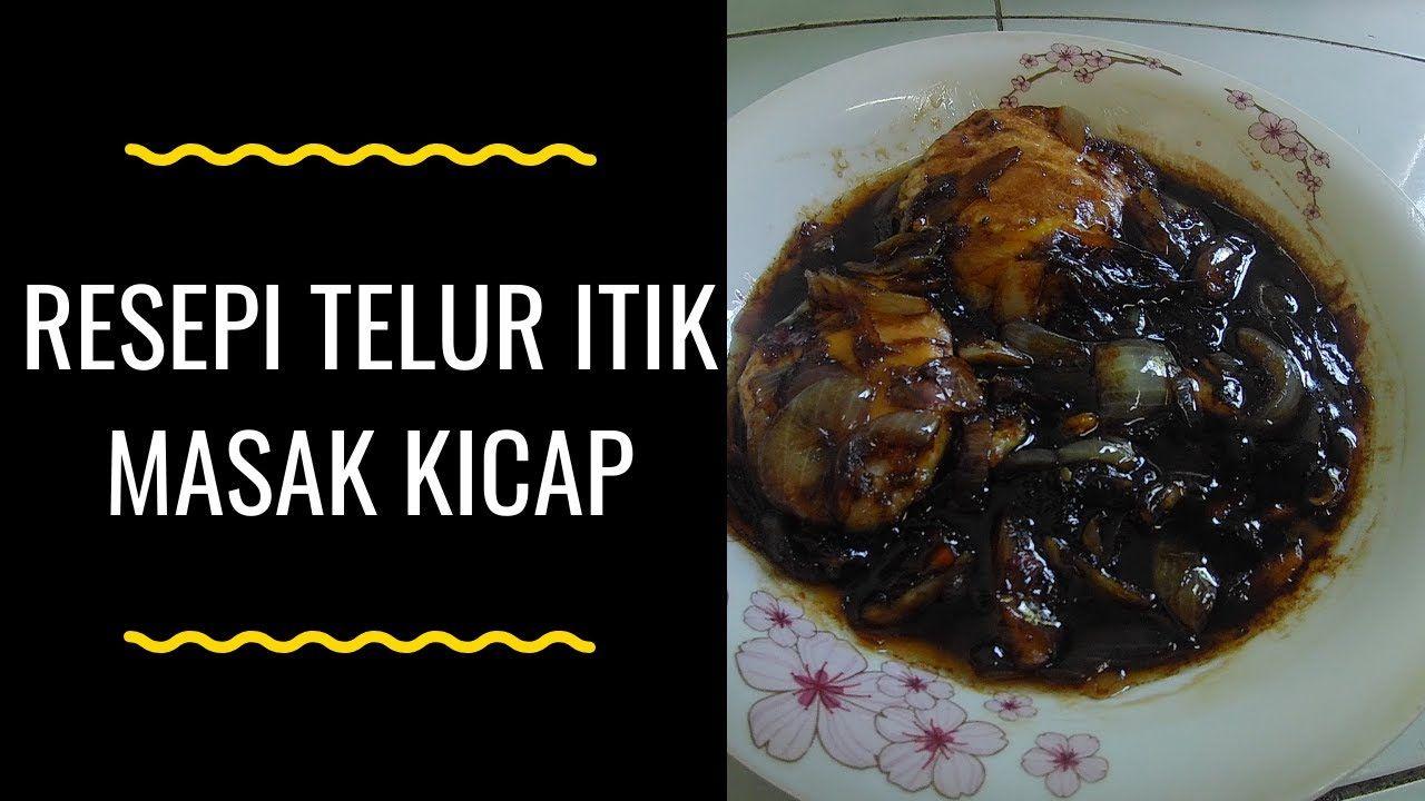 Simple Resepi Telur Masak Kicap / Bagaimana Telor Masak Kicap Malaysian Food : *rehatkan nak