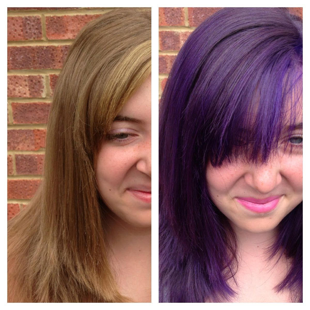 Temporary Hair Color Purple - Best Dark Blonde Hair Color Home Check ...