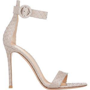 Womens Portofino Ankle-Strap Sandals Gianvito Rossi 28WQ70l