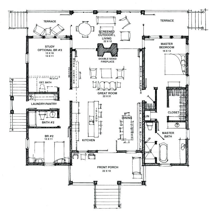 Dog Trot House Plans Southern Living Modern Dog Trot House Plans The Camellia Hot Humid Free Southern Dog Trot House Plans Southern House Plans Dog Trot House