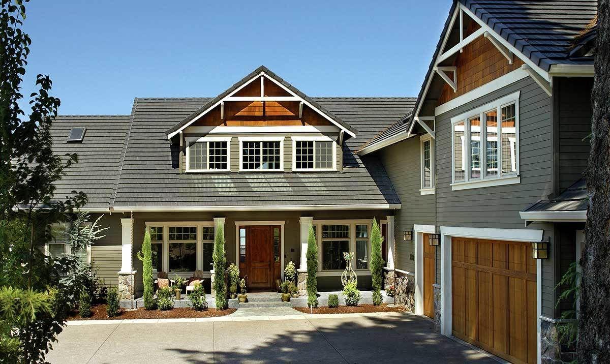 plan 69065am classic craftsman home plan buren exterior rh pinterest com