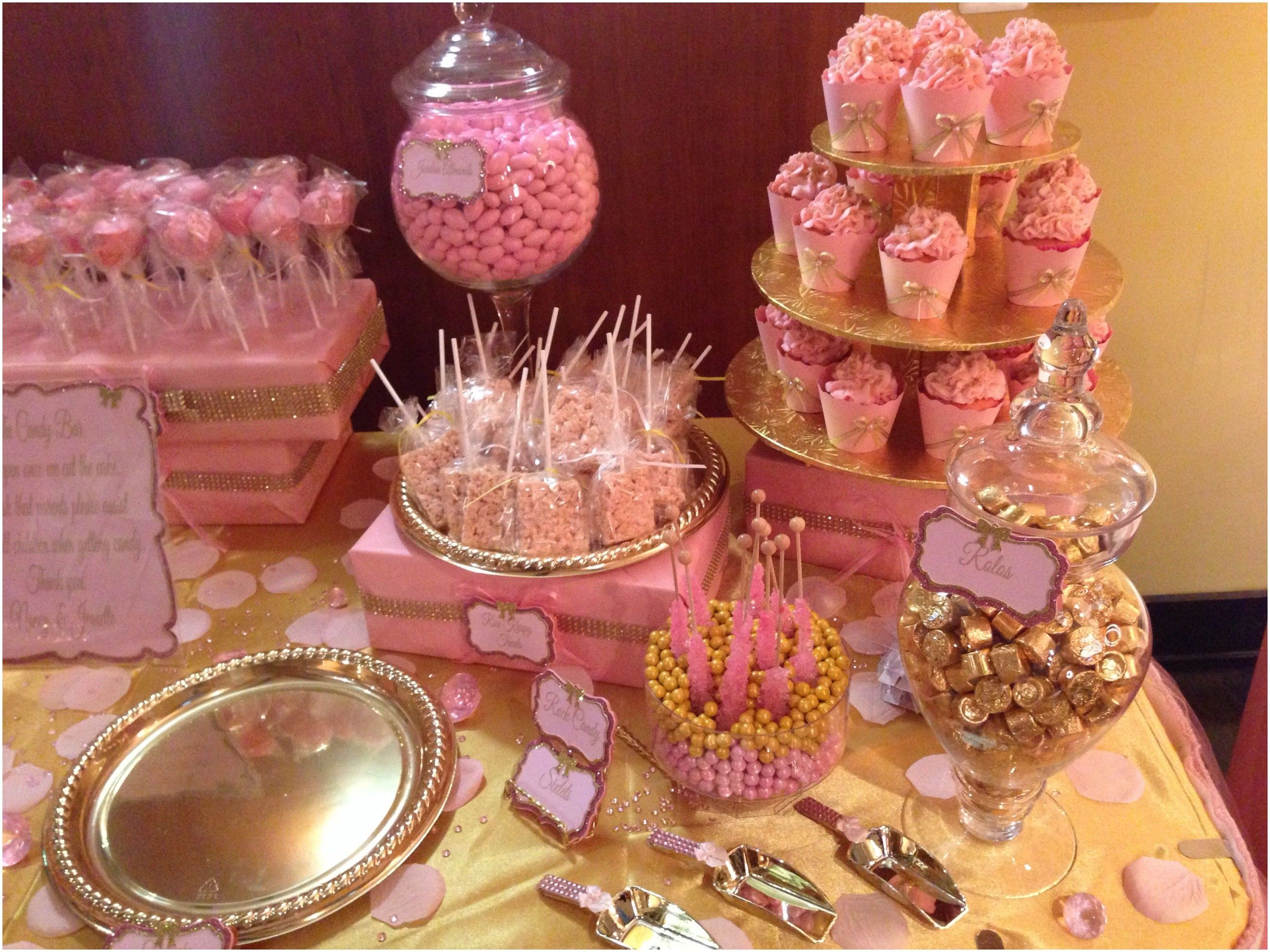 Collection Baby Shower Table Decorations Pink And Gold Baby Shower Princess Gold Baby Showers Pink Gold Baby Shower