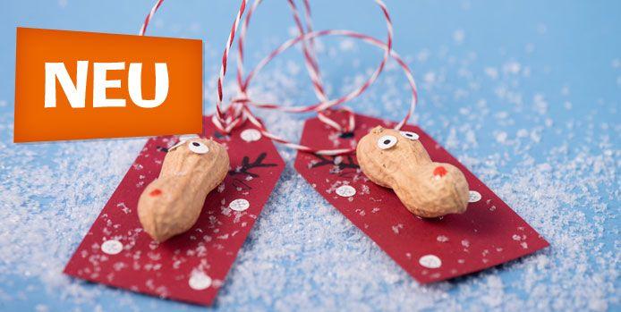 Geschenkekarte Erdnuss - Lilibiggs
