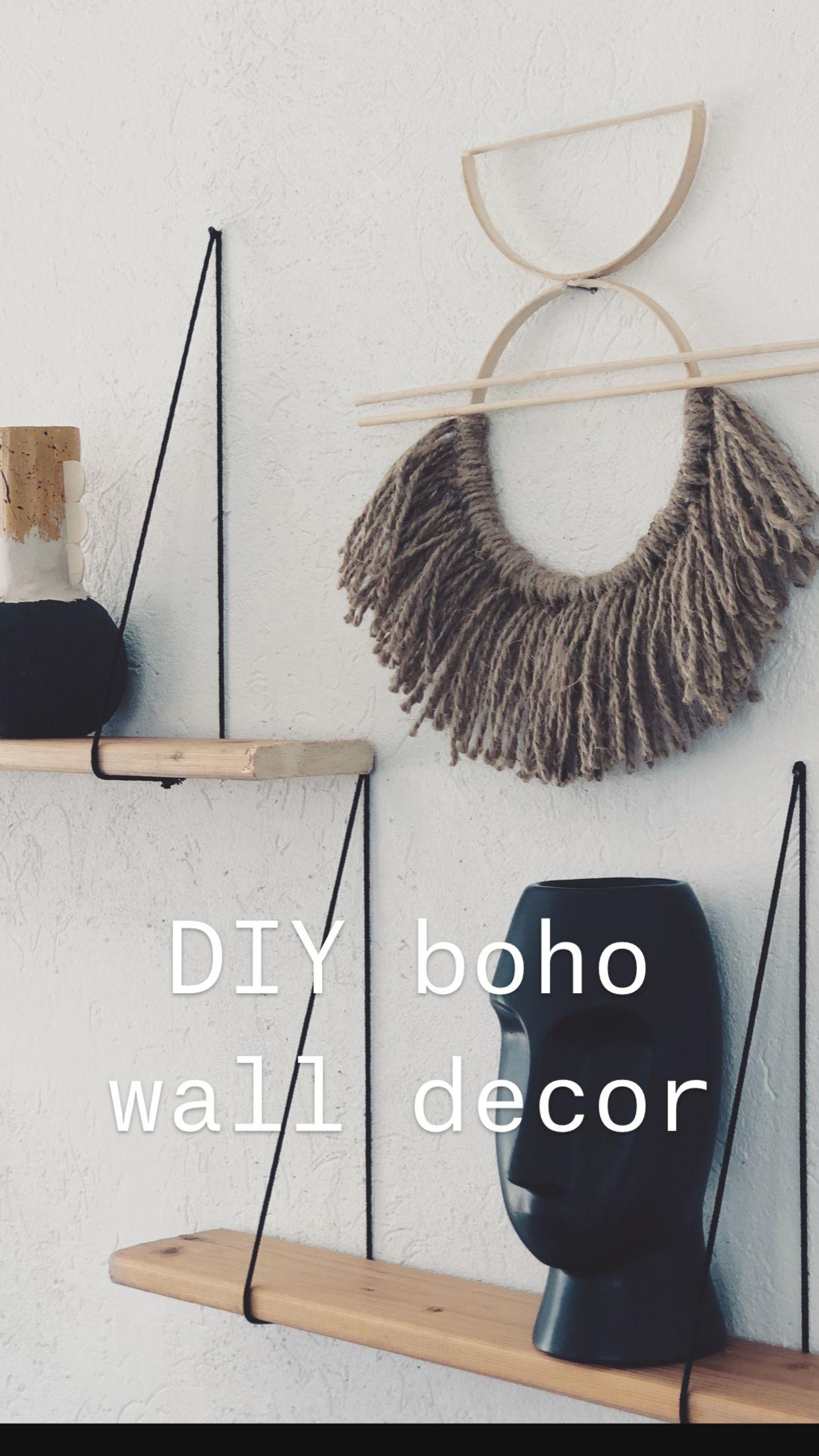 Photo of DIY boho wall decor