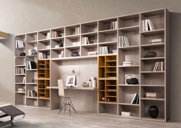 angolo studio nel soggiorno - Cerca con Google | 柜子 | Pinterest ...