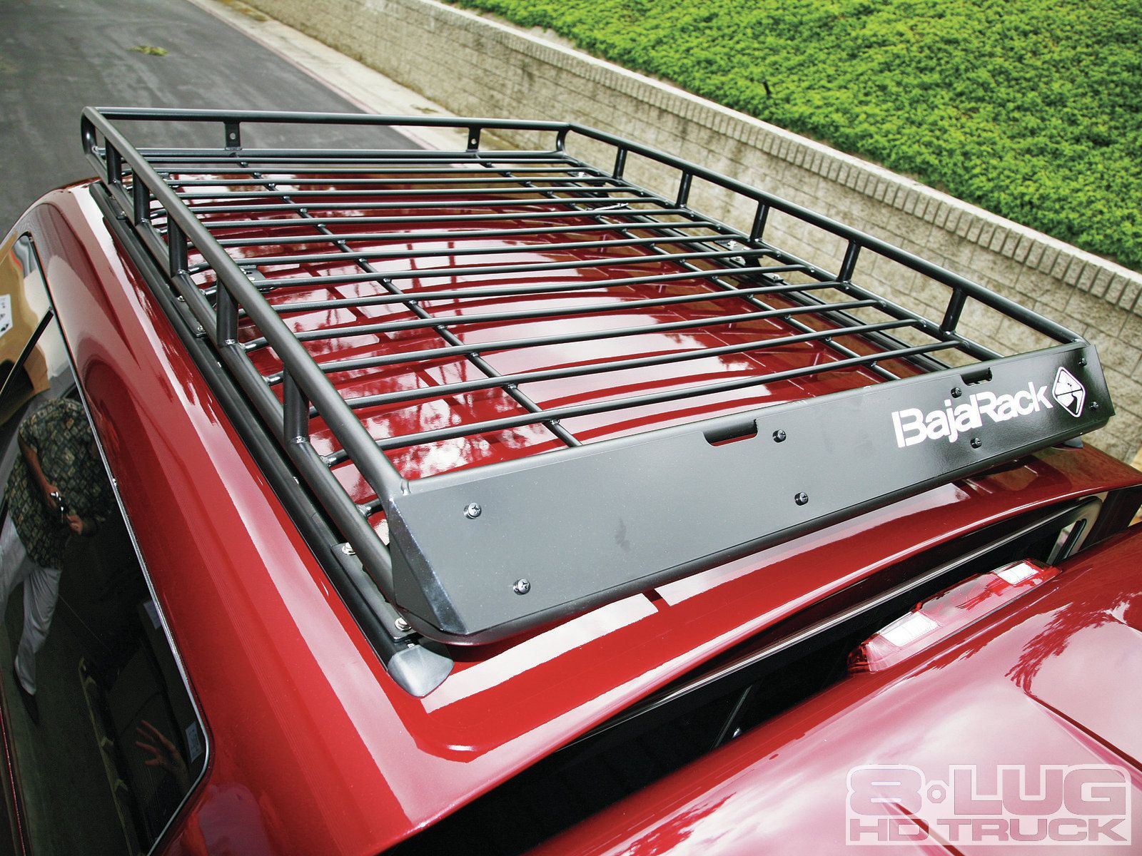 Truck Canopy Racks 1202 8l 01 2bbajarack Roof Rack Installation 2bbajarack Installed Jpg Roof Rack Truck Canopy Roof